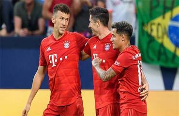 Coutinho tâng bốc Lewandowski sau trận ra mắt Bayern