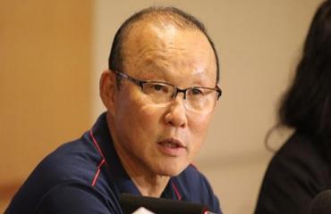 HLV Park Hang Seo: 'Thua một bàn không có gì nặng nề'