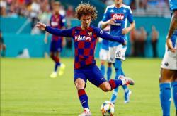 Napoli 1-2 Barca (Giao hữu CLB 2019)