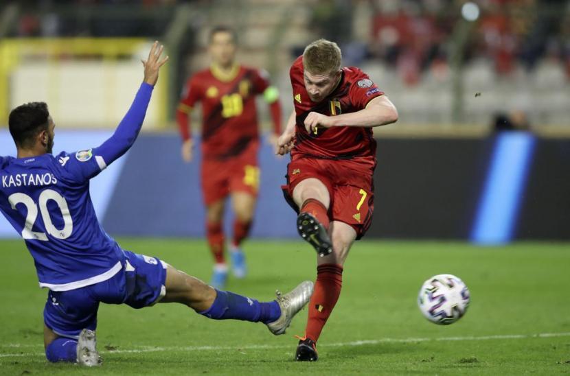 Bỉ 6-1 Cyprus (Vòng loại EURO 2020)