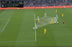 Mổ băng: Hàng công Barcelona làm khó Real Betis
