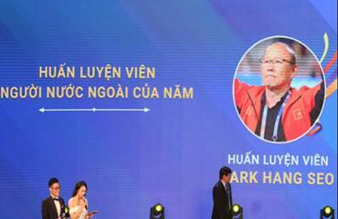 Thầy Park và U22 Việt Nam được vinh danh ở Cúp chiến thắng 2019