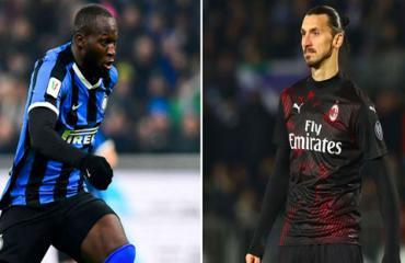 Lukaku vs Ibrahimovic: Trận derby của hai gã khổng lồ