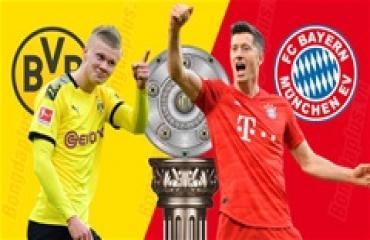 Dortmund vs Bayern, 23h30 ngày 26/5: Vắng khán giả, khách làm chủ