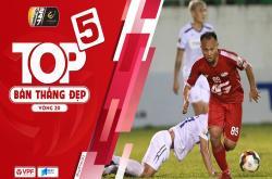 Bàn thắng đẹp vòng 20 V-League 2019