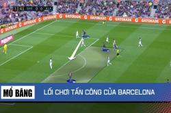 Mổ băng: Barca tấn công đa dạng với tam tấu MSG