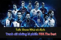 Tranh cãi xung quanh FIFA The Best (Nhà vô địch 25/09)