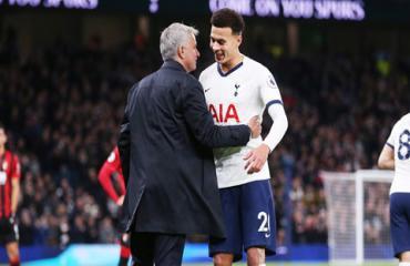 Alli thăng hoa nhờ Mourinho không coi anh là tiền vệ